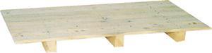 70 X 100 cm Üstü Kapalı Kağıtçı Paleti (Kadronlu)