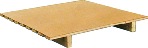 70 X 100 cm Kontraplaklı Kağıtçı Paleti