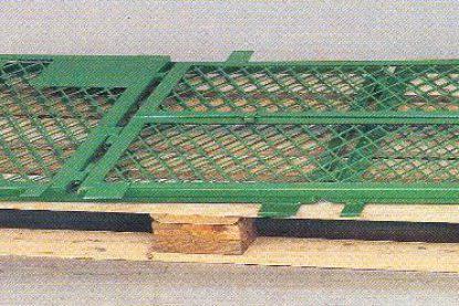 Katlanabilir Metal ızgara paletli